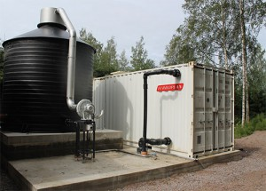 Villähde Natwat-vedenpuhdistamo Natwat water treatment plant