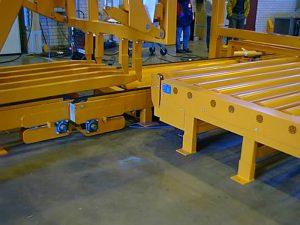 rullakuljetin ketjukuljetin risteysasema roller conveyor chain conveyor crossing station