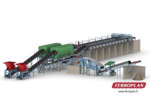 yhdyskuntajätteen käsittely kompostointilaitos municipal waste treatment