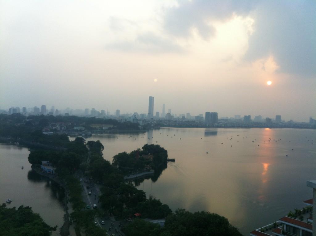 Hei Hanoi, nähdään taas!