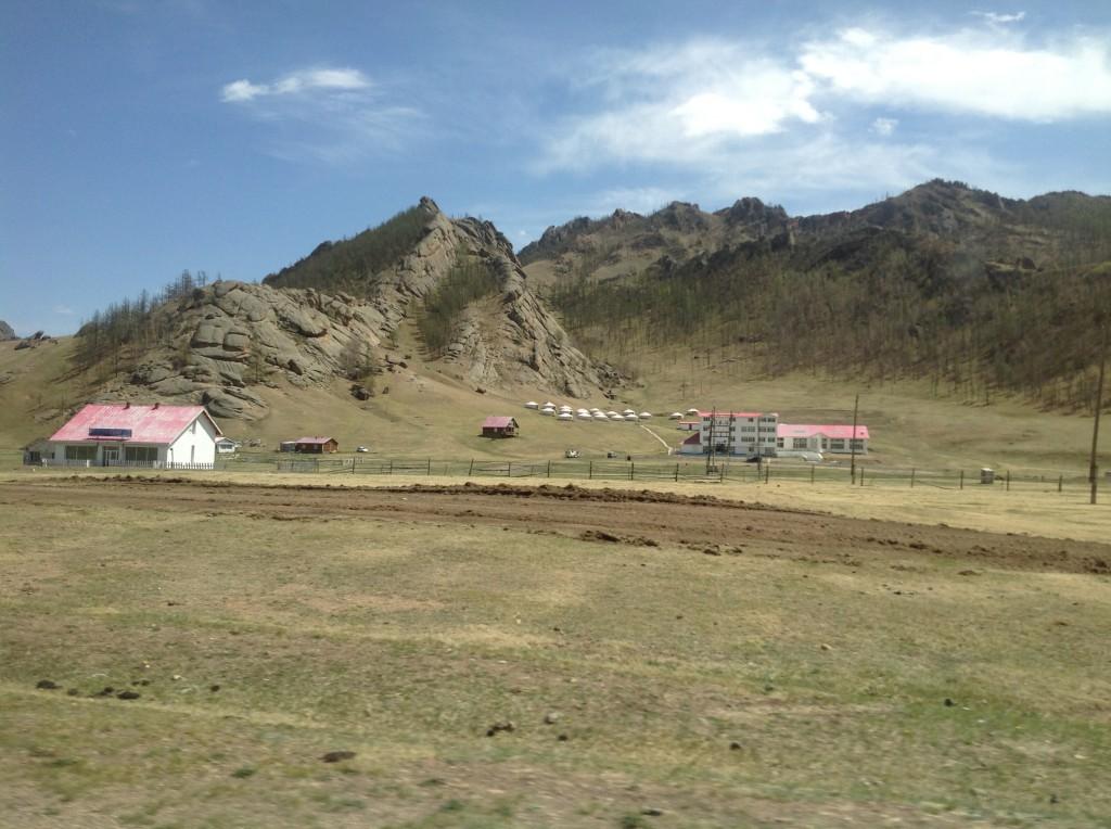Näkymä Mongoliasta.